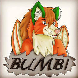 Badge Commission - Bumbi Fox