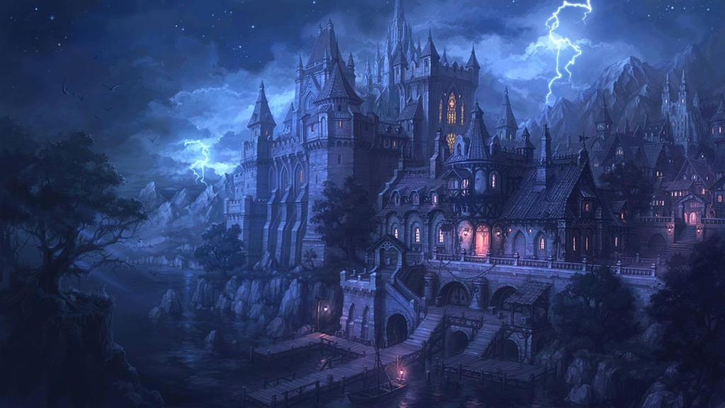 Fantasy Castle Wallpaper Hd By Joeh11121986 On Deviantart