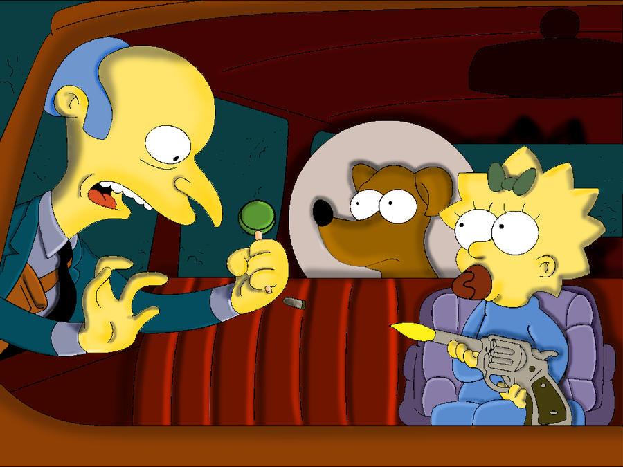Who shot Mr Burns? - Car by Tusaara