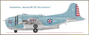 Veeblefitzer - Boeing PB-17E Sea Fortress by Jimbowyrick1