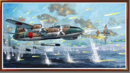 Veeblefitzer-Mitsubishi Super Betty Combat by Jimbowyrick1