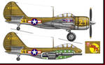Veeblefitzer - Curtiss A-44 Flying Cannon