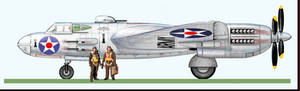 Veeblefitzer XA-27A ''Silver Bat'' Attack Bomber