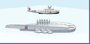 Veeblefitzer 'Manta Ray' vs Dornier 'Flugschiff''
