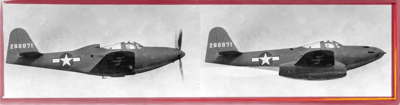 Bell-Veeblefitzer Jet powered P-63 King Cobra