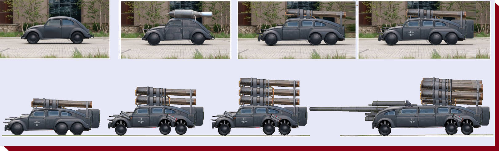 Veeb Volks Vagon Vengence Veapon