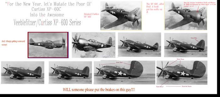 Curtiss Veeblefitzer XP-600 Series