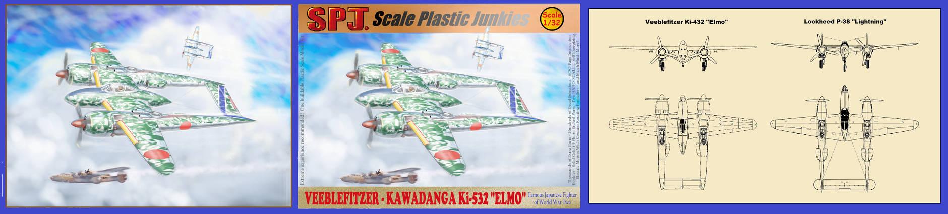 Veeblefitzer-Kawadanga Ki-532 ''Elmo''