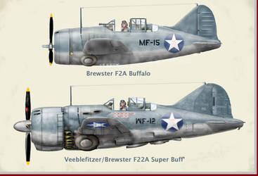 Veeblefitzer-Brewster F22A Super Buff(alo)