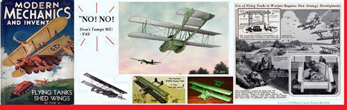 Popular Mechanics-Flying tank