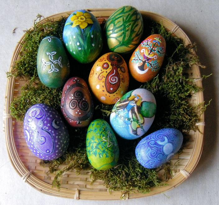 Ostara eggs by oshuna