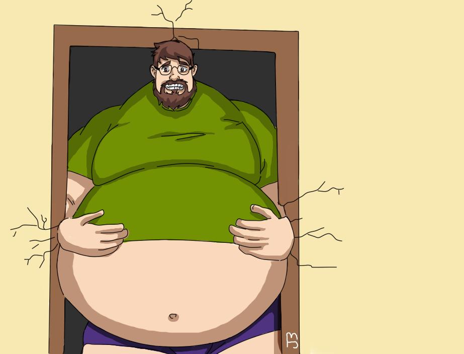Big man by JoeBear13