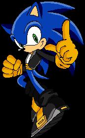 Tuxedo Sonic by SirPeaches