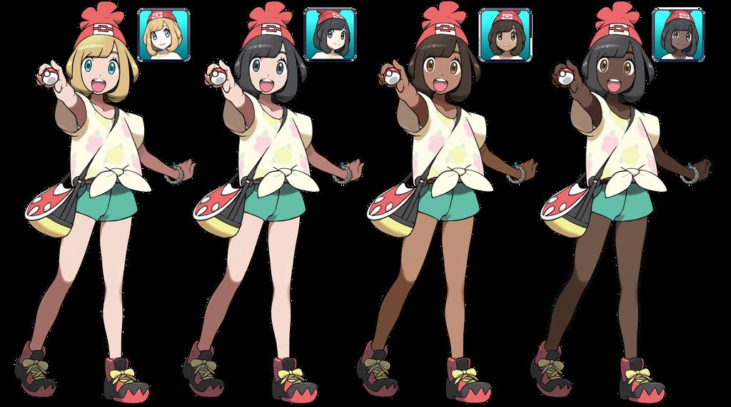 naked pokemon trainer girl