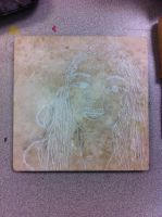 Stone Carving   Portrait By Matthew And Katie