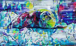 Painted Cute Seal Garage Door Max Quality Version by MatthewandKatlayn