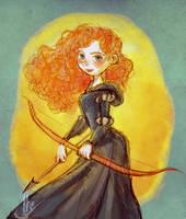 Brave : Merida by Ardinaryas