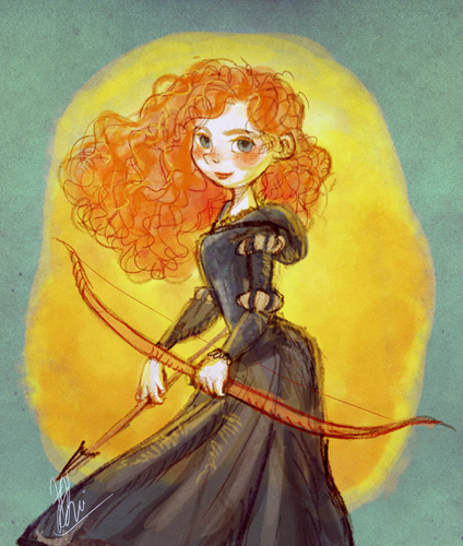 Brave : Merida by artspell
