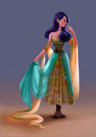 Batik Girl by Ardinaryas