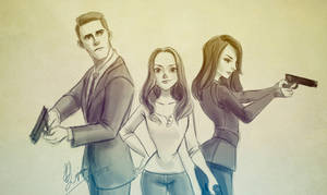 Agents of S.H.I.E.L.D by Ardinaryas