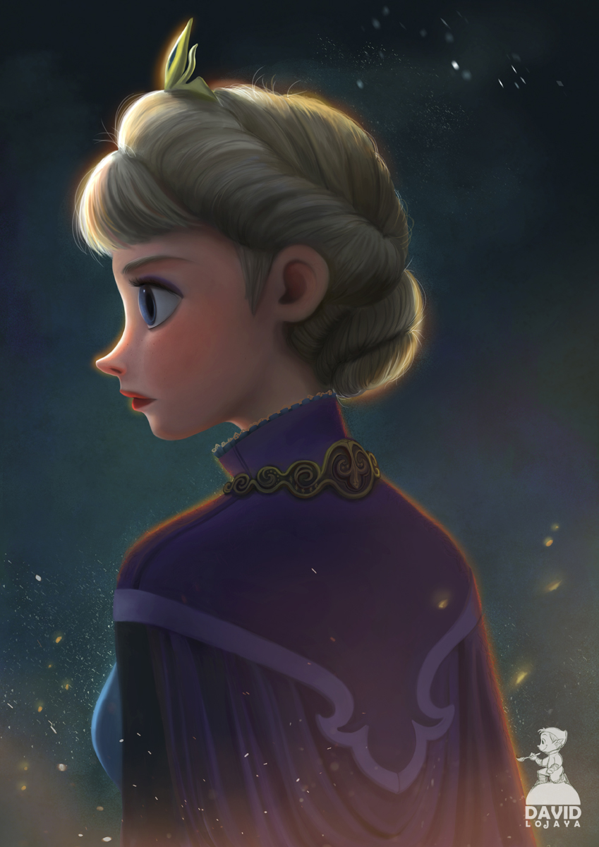 Frozen Queen by DavidAdhinaryaLojaya