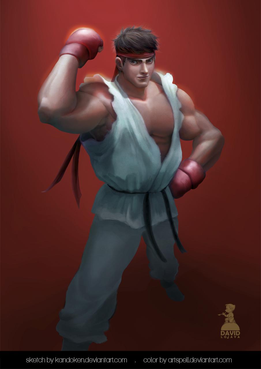 Ryu by DavidAdhinaryaLojaya
