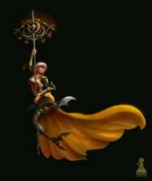 Lightning Poseidon Armor by Ardinaryas