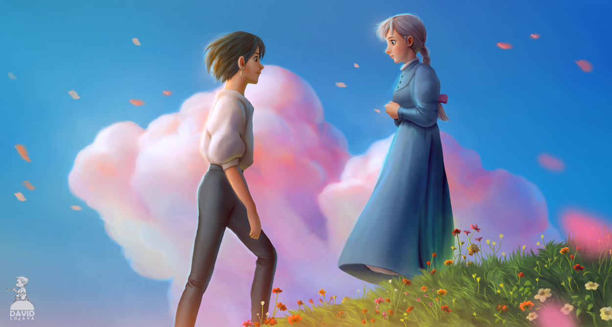 Howl's moving Castle by artspell