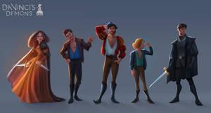 Da Vinci's Demons Characters