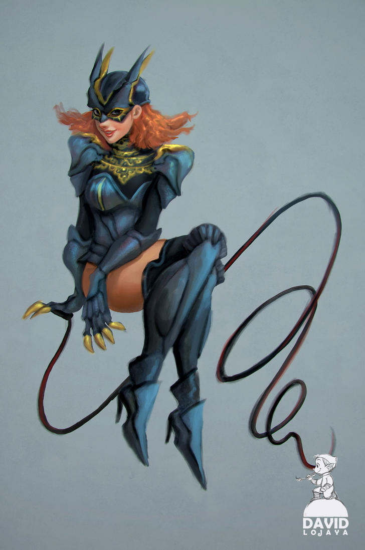 Catwoman fantasy suit by artspell