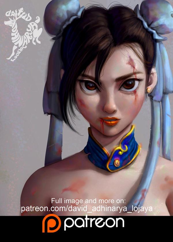 Chun Li by DavidAdhinaryaLojaya