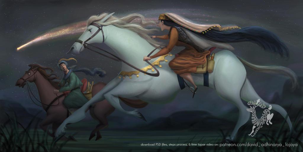 Chasing Halley by DavidAdhinaryaLojaya