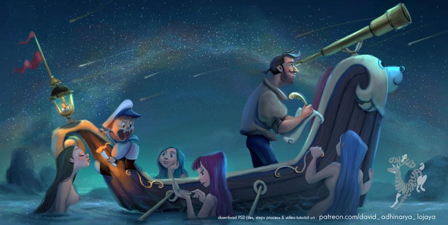 Stargazing by DavidAdhinaryaLojaya