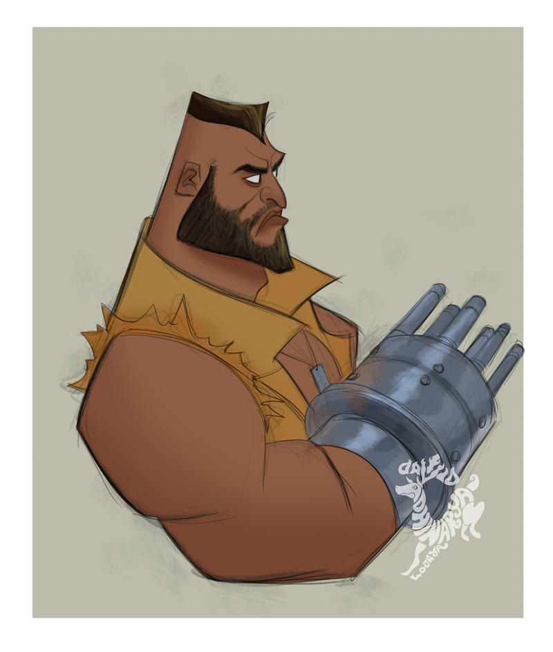 Barret by DavidAdhinaryaLojaya