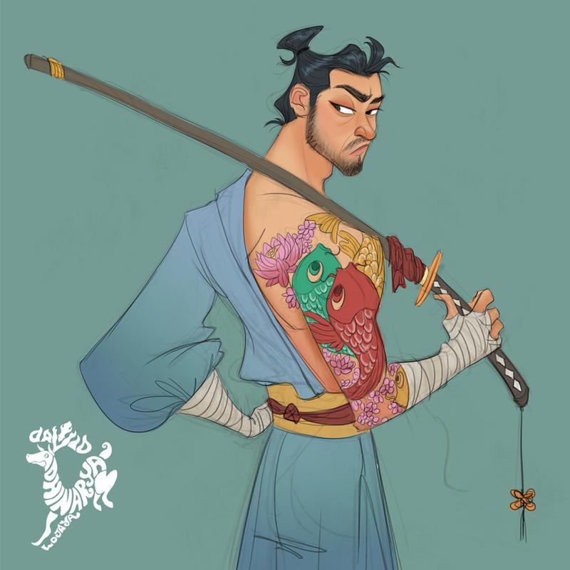 Samurai by DavidAdhinaryaLojaya