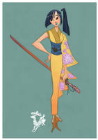 Samurai Girl by Ardinaryas