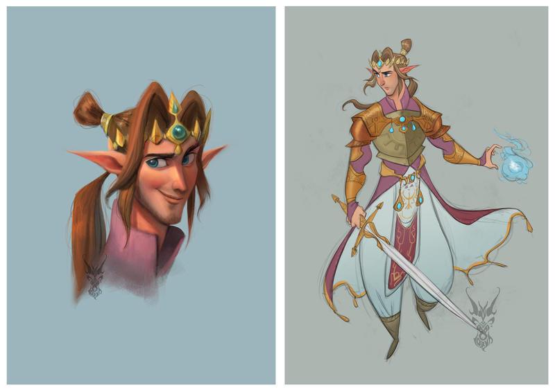 Prince Zelda by Ardinaryas