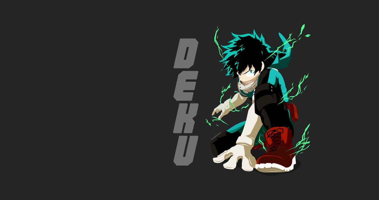Boku No Hero Academia Deku Wallpaper By Jzin123 On Deviantart