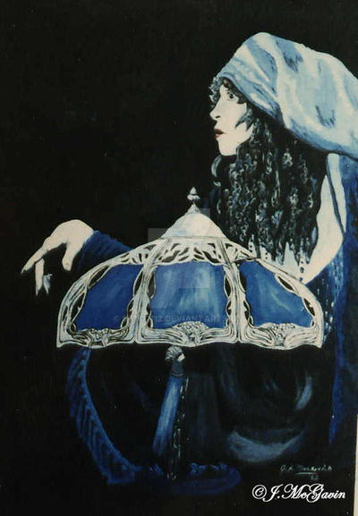 Charming Blue Lamp Stevie Nicks By Seto2112 ...