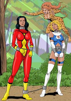 Marvelous Heroines Hunted..