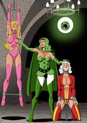 Prisoners of the Emerald Empress!