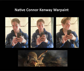 Native Connor Kenway Warpaint by MitchTheChief