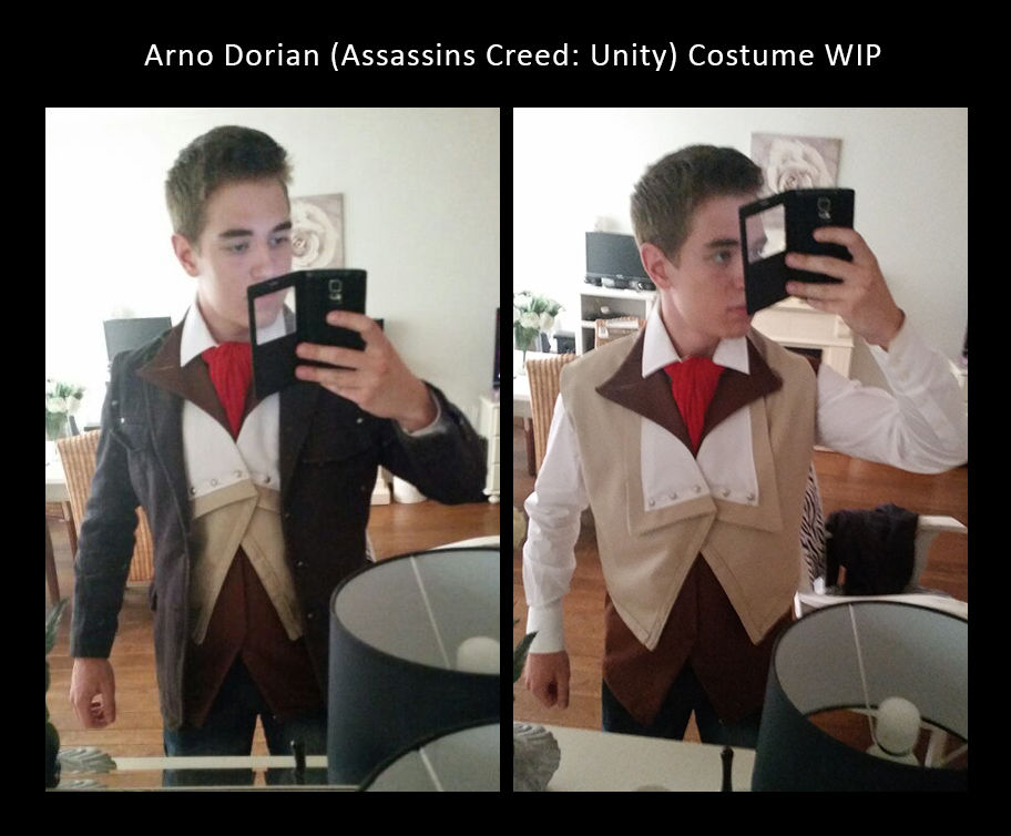 Arno Dorian Costume (WIP) by MitchTheChief