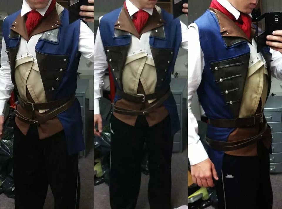 Arno Dorian Costume Wip2 By Mitchthechief On Deviantart