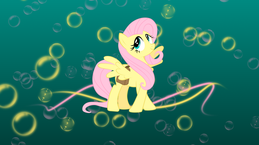 Cute Fluttershy Wallpaper by sqarishoctagon