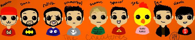 The Creatures by HetaliaMaid