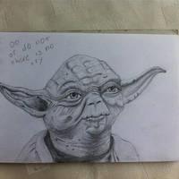 Yoda in Pencil