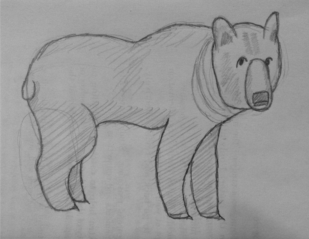 Traditional Bear by ry00n