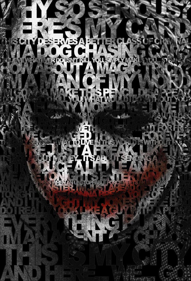 Joker 39 s quotes poster by drmierzwiak on deviantart - M r love wallpaper ...