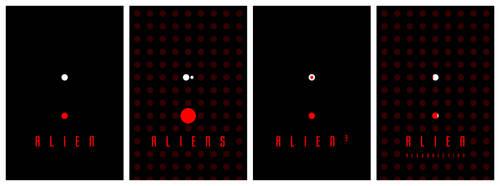 Alien Anthology poster by drMIERZWIAK